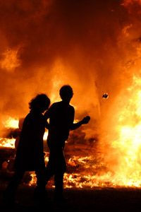 Smell is our first response to dangers like fire and gas leaks. See more human senses pictures.