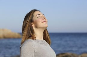 What you're smelling isn't sunshine, but the sun's presence can affect the scent of the air.
