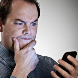 If you don't recognize the sender of that text message, delete it! It could be a virus waiting to happen.