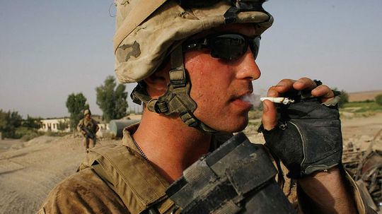 Why Smoking Rates in the Military Are So High