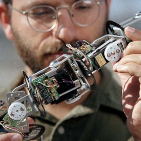An up-close look at the snakebot modules