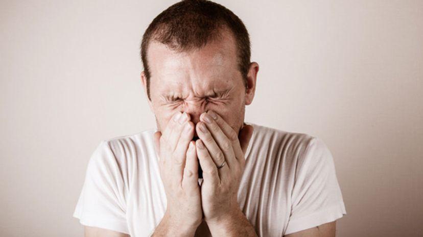 Human sneeze