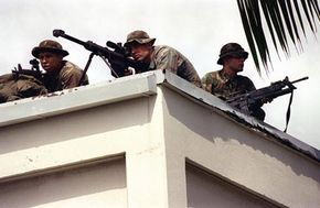 Snipers in Iraq.