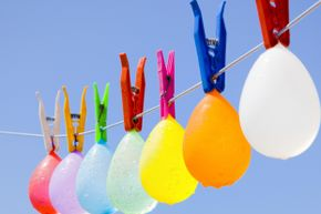 There's nothing like some balloons and some temperature change to illustrate the contraction and expansion of gases.