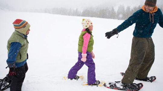 How Snowshoes Work