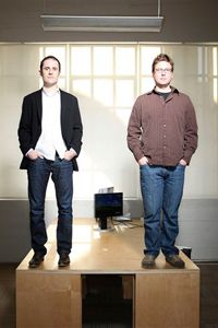 Twitter co-founders Biz Stone and Evan Williams have created an impressive social networking Web service -- but can they monetize it?