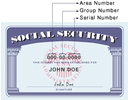 The numbers on your Social Security card actually mean something!