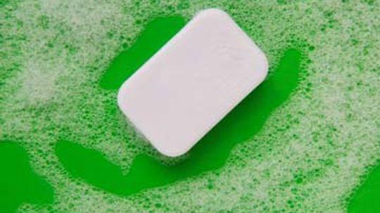 What makes soap foam?