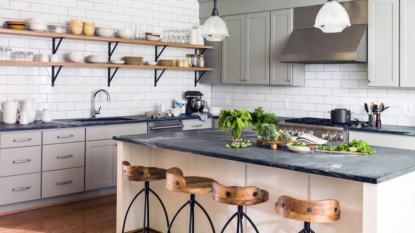 soapstone counter and sink