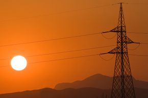 A powerful solar storm could cause power lines to snap across an entire continent.