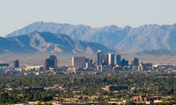 Phoenix boasts a whopping 306 days of sun a year.