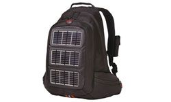 This backpack includes a solar charger to power up your cell phone and GPS.