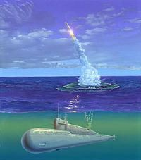Cosmos-1 will be launched from a submarine.