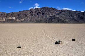 death valley sliding stones