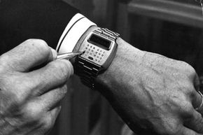 One of the early computer/calculator/watches to be produced