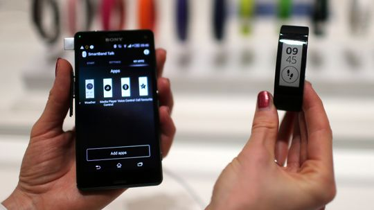 How the Sony SmartBand Works