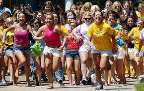 Sorority recruitment can be hectic.