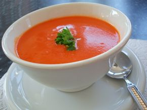 Soup is good as a side dish or as a meal on its own. See more pictures of healthy soups.