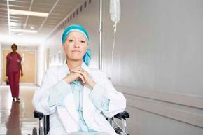 Cancer patients sometimes give off a powerful odor, due to dead tissue inside their bodies.