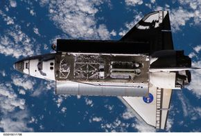 You can get NASA's broadcast of the Atlantis mission several different ways.