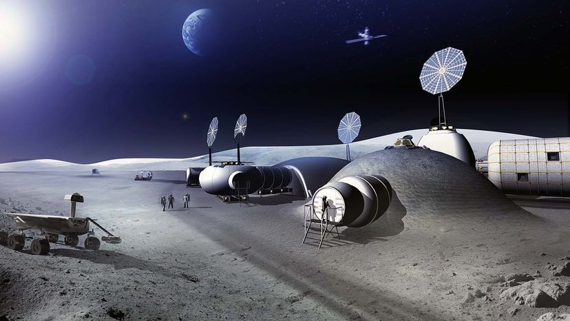 Space Architects Will Help Us Live and Work Among the Stars Moon village