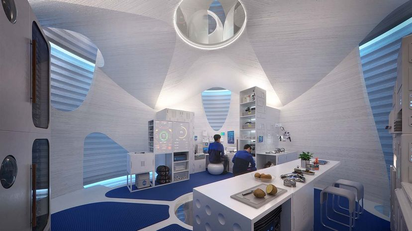 Space Architects Will Help Us Live and Work Among the Stars Mars space factory