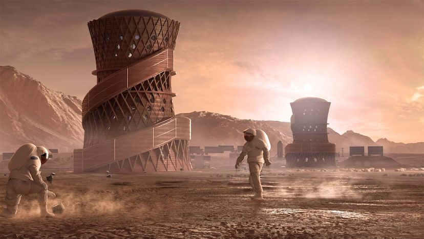 Space Architects Will Help Us Live and Work Among the Stars Mars habitat