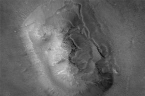 The red planet. Do you see a face?