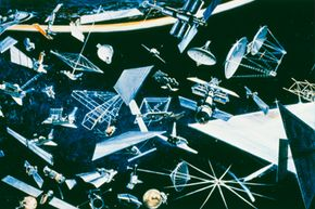 The U.S. Space Surveillance Network currently tracks 17,000 objects, including everything from active spacecraft to inactive satellites as they orbit Earth.