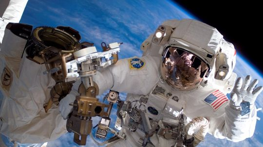 How do humans age in space?