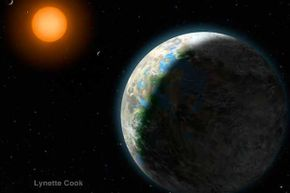 Gliese 581g is squarely within the habitable zone of its red dwarf star. Aren't you curious to see how it measures up to your earthly digs?