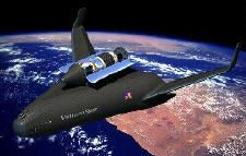 The VentureStar could become the mass transit system for Earth-to-orbit travel. See more space exploration pictures.