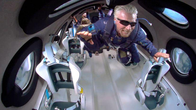 Richard Branson in space #Unity22