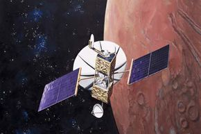 Communications satellites like this one are vulnerable to space weather.