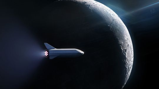 SpaceX Books Its First Private Passenger to the Moon