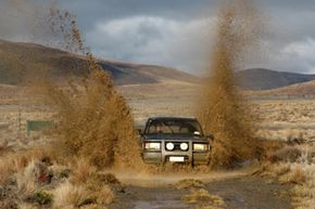 Image Gallery: Off-Roading You want trouble stopping while you're out mudding? Keep your drum brakes. See more off-roading pictures.