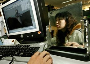 Special effects artists often rely on computers to create realistic characters and scenes.