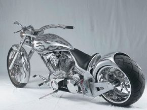 Speed Demon's integrated look helps set this chopper apart from the crowd.