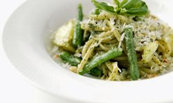 Pesto is certainly pleasing to the palate.