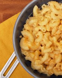 Comfort food will make you feel safe and warm.