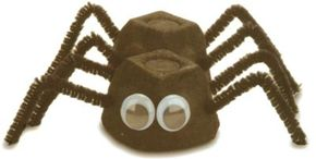 This silly spider isn't too scary, but he is fun to make.