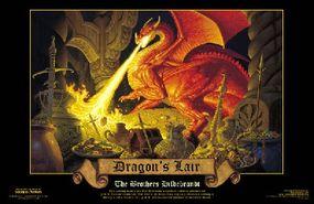 """The Dragon's Lair"" print: $5.00"