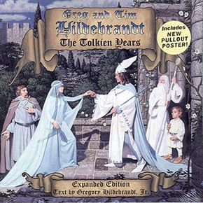 """""""Greg and Tim Hildebrandt: The Tolkien Years,"""" signed by the artists: $40.00 """"Greg and Tim Hildebrandt: The Tolkien Years,"""" unsigned: $25.00"""