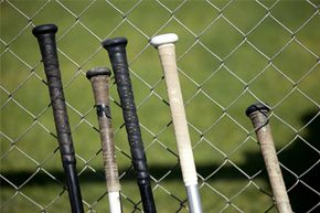 Spitting on a baseball bat upon first use is probably nothing more than a confidence booster.