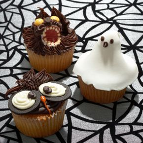 Halloween Candy Image Gallery These ghoulish creatures would be a sweet treat for any Halloween party. See more Halloween candy pictures.
