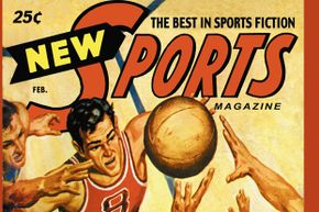 Chances are this 1951 sports magazine had a story on the college hoops scandal.