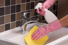 Where do some of those hidden germs lurk in the bathroom -- and how can you clean them?