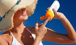 Don't forget sunscreen!