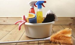 Why do we traditionally spring clean in the spring?