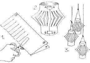 Make a set of Spring Lanterns!